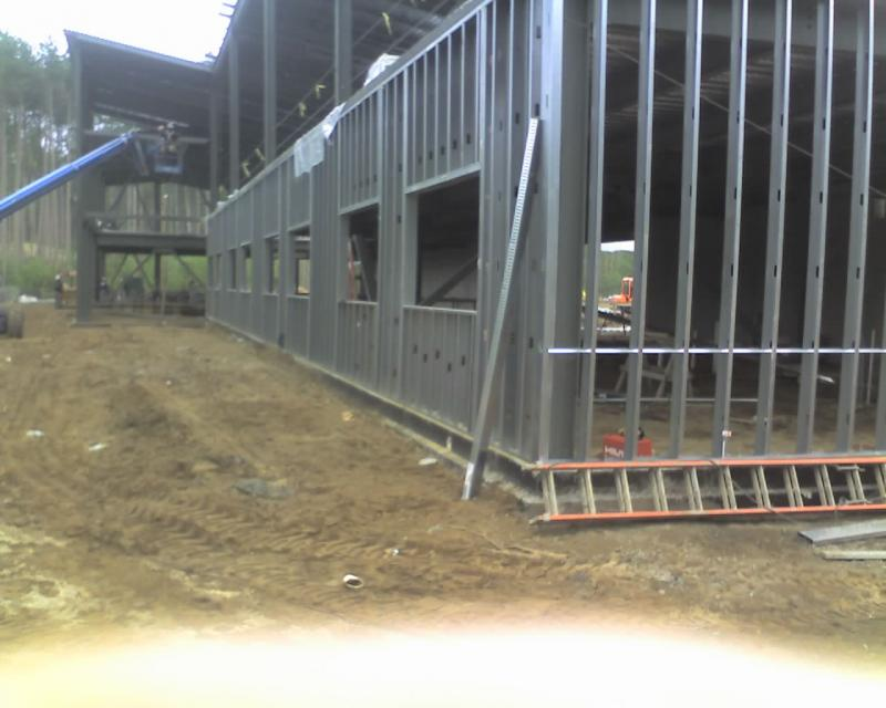 North Side Exterior Framing