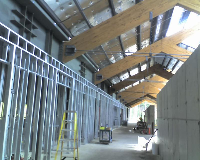 2nd floor Interior Framing